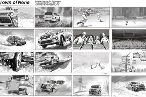 Lexus Car TV commercial