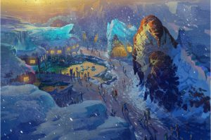 Key art of the concept for the expansion of the Sea world Orlando.