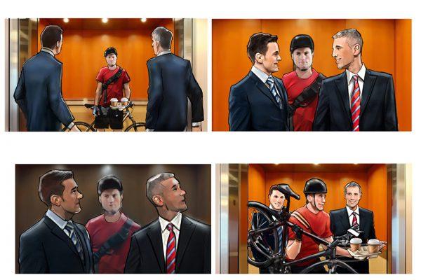 "Politcal Ad - ""Elevator Pitch"""