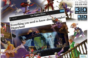Colored Storyboard-Shanghai Disney