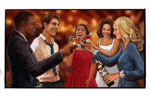 Scene 3 cheers