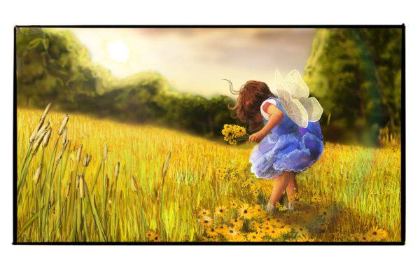 scene flower
