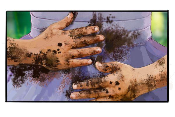 scene hands